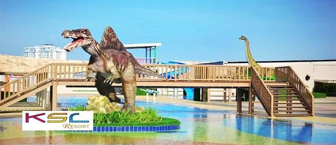 Dinosaur Alive Theme Park for 1 Person (KSL Hotel & Resort)