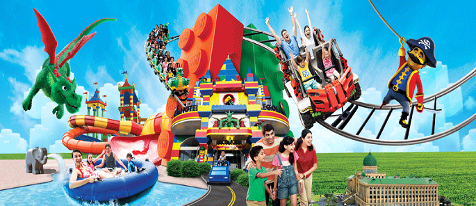 1-Day Legoland Combo Admission (Theme Park + Water Park) for 1 Child